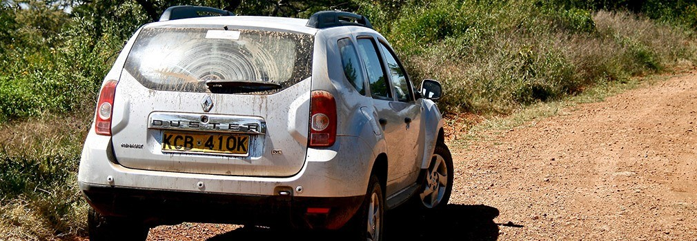 Renting a car in Kenya