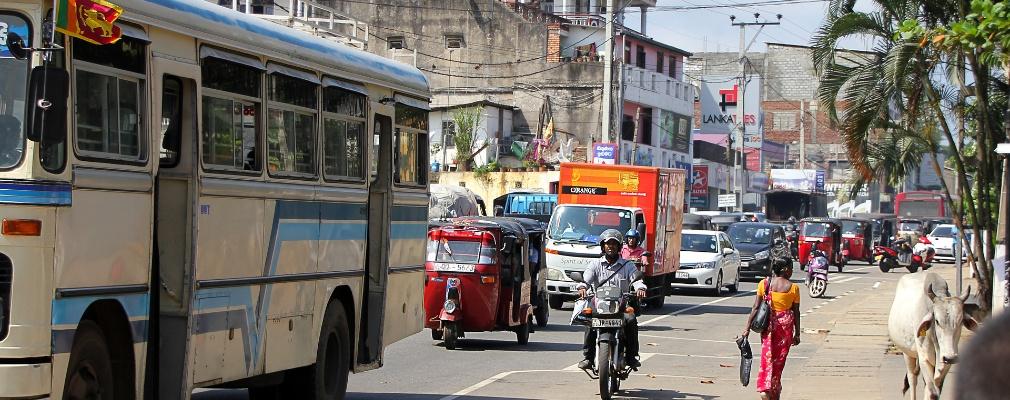 Verkeer in Sri Lanka