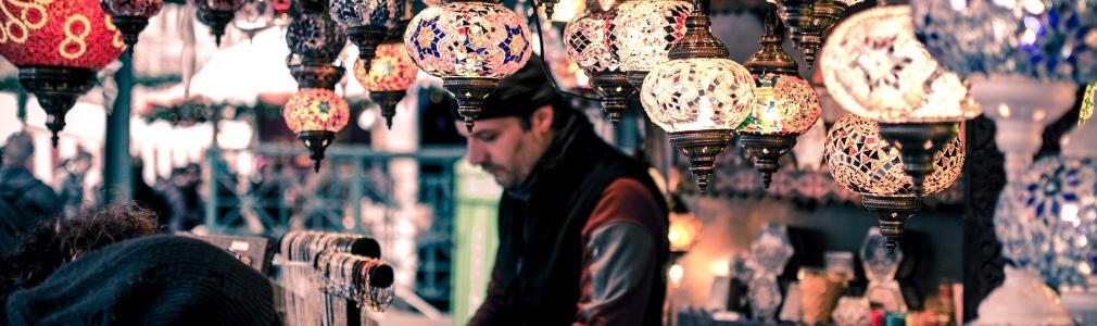 Turkish man working in Turkey